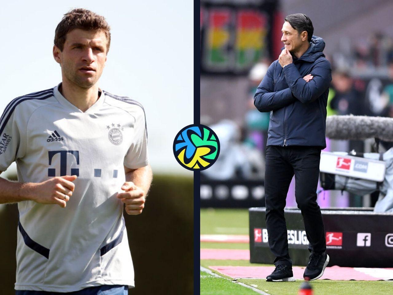 Thomas Muller, Hansi Flick, Niko Kovac, Bayern Munich, Bundesliga
