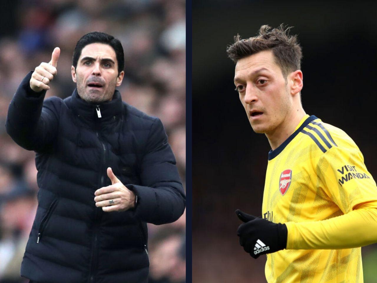 Mikel Arteta, Mesut Ozil, Arsenal, Premier League