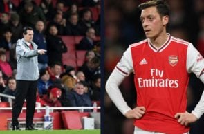 Ozil publicly slams Emery