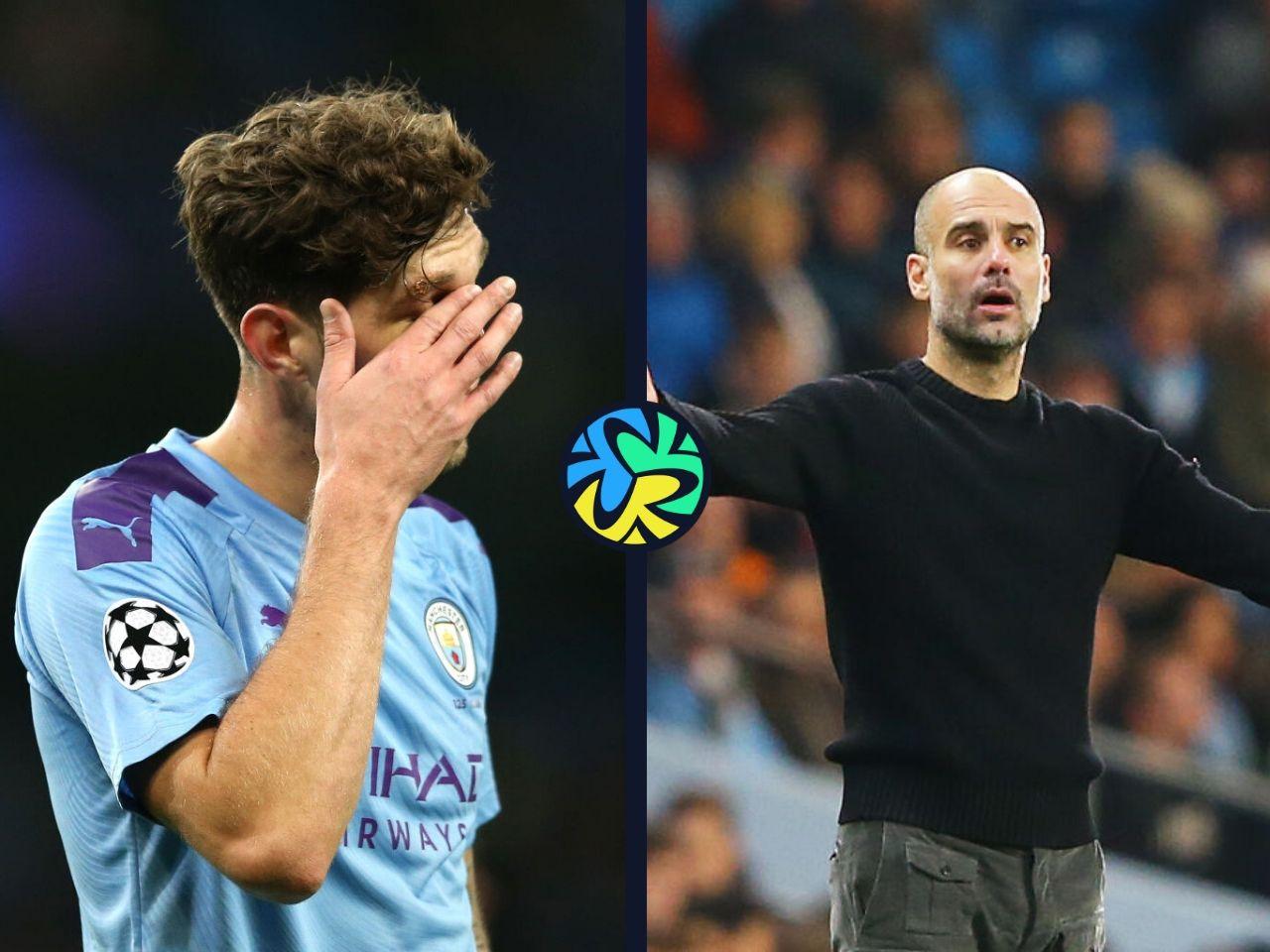 John Stones, Pep Guardiola, Manchester City, Premier League