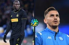 Romelu Lukaku, Alex Meret, Inter, Napoli, Serie A