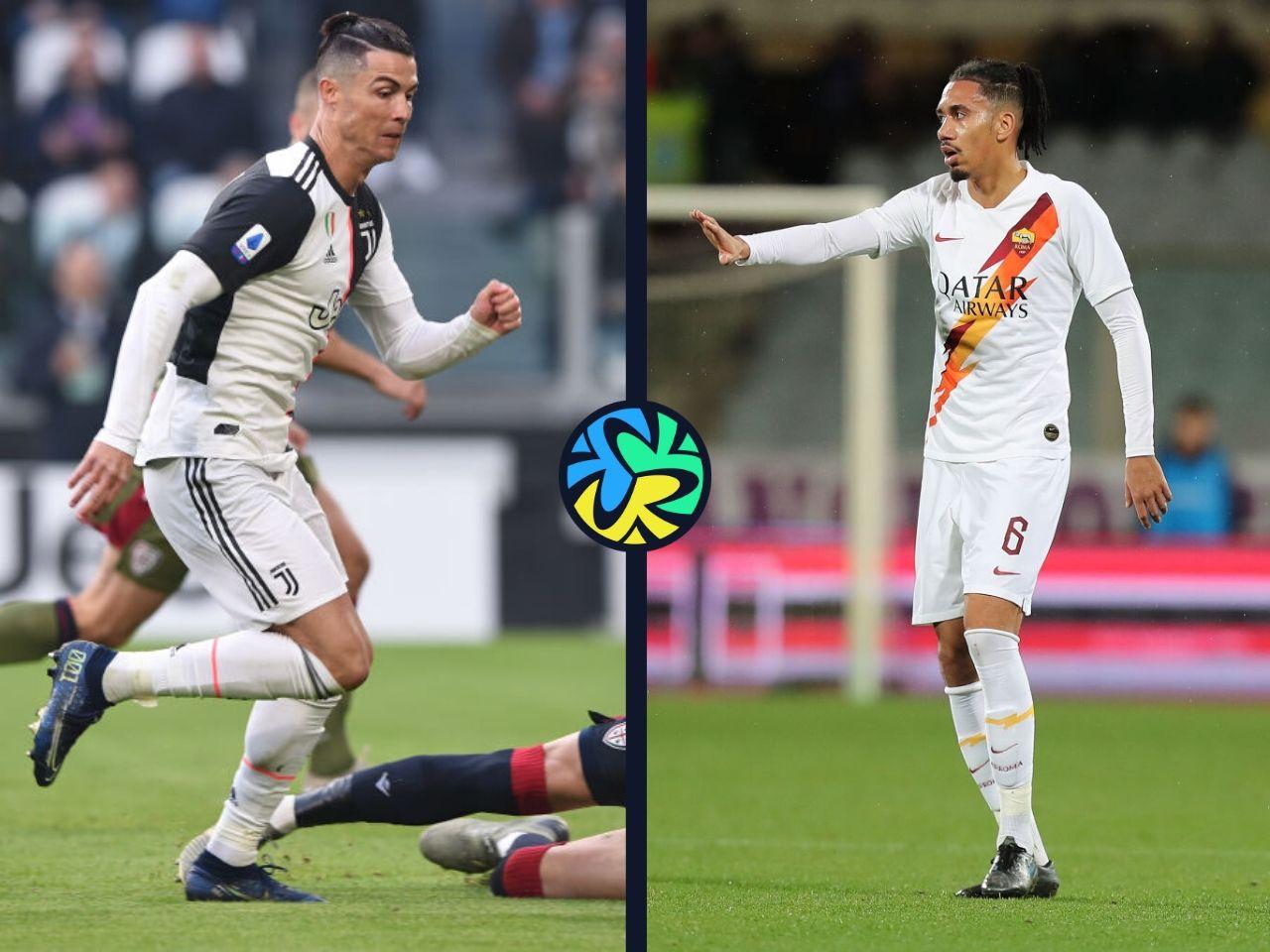 Chris Smalling, Cristiano Ronaldo, Juventus, Serie A