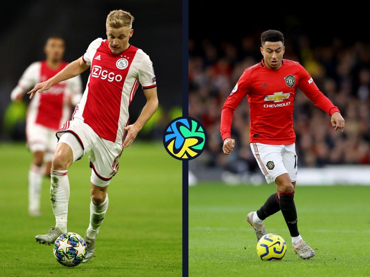 Donny van de Beek, Jesse Lingard, Manchester United, Ajax, Premier League