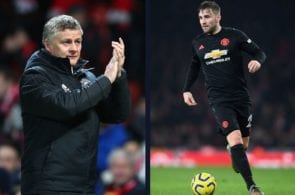 Solskjaer claims that Shaw is potentially the best left-back in England