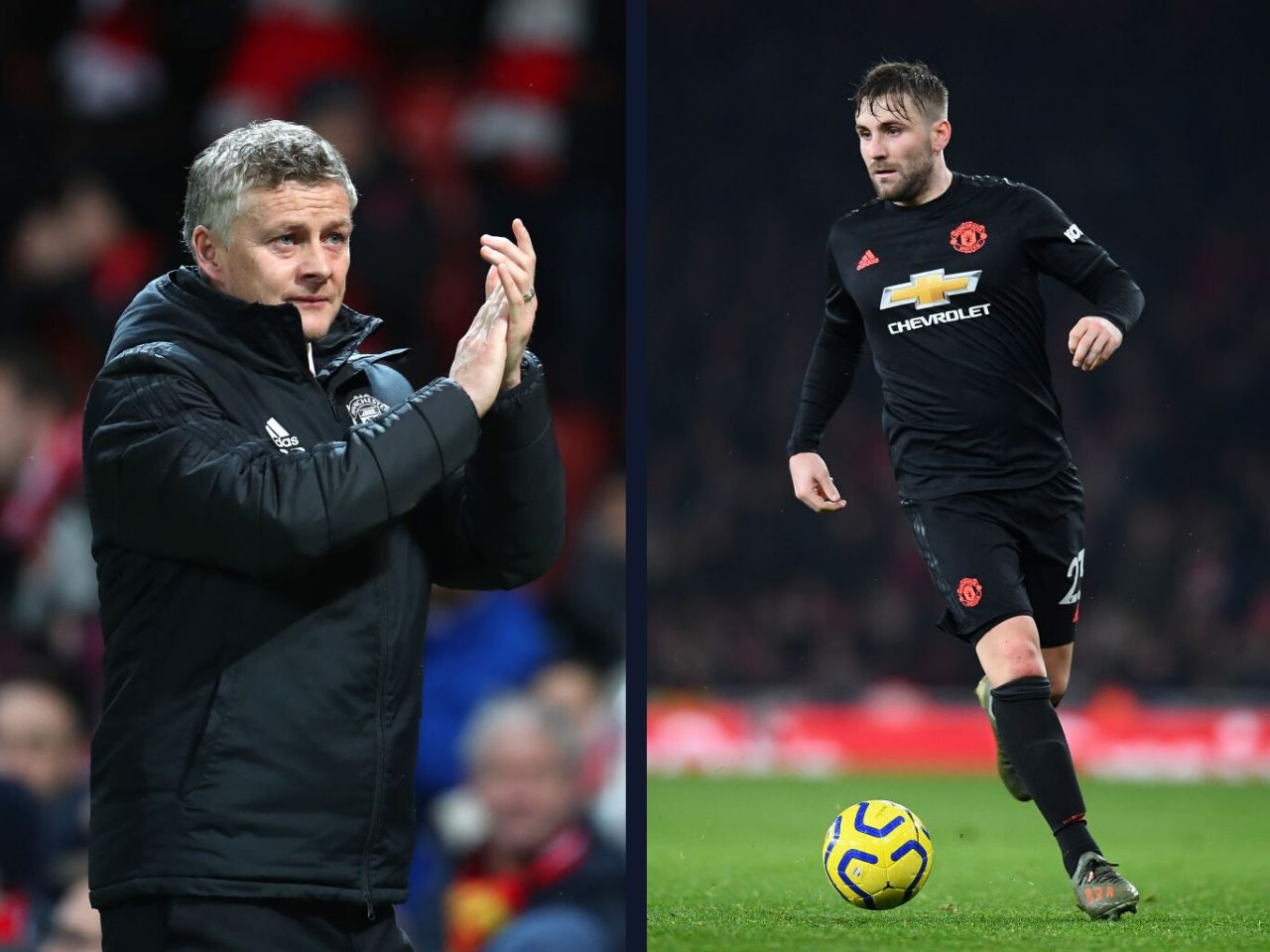 Solskjaer, Luke Shaw, Manchester United, Premier League