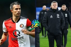 Solskjaer to Van Persie You took my shirt number but that's all