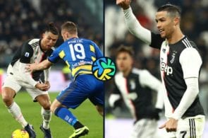 Video - Ronaldo bags a brace, as Juventus beat Parma 2-1