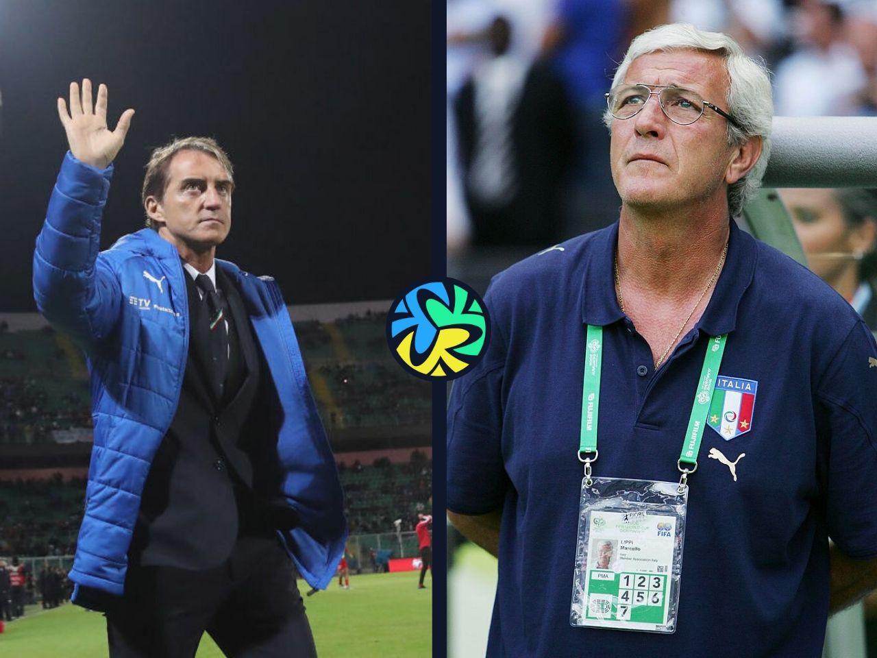 Marcello Lippi, Roberto Mancini, Italy