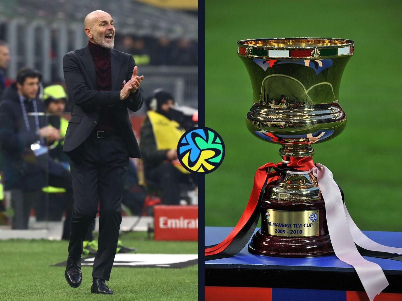 Stefano Pioli, Coppa Italia, AC Milan