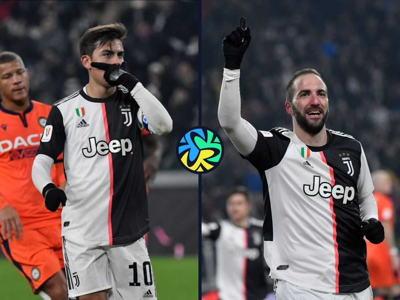 Higuain, Dybala, Juventus