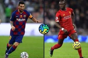 Lionel Messi, barcelona, Sadio mane, Liverpool