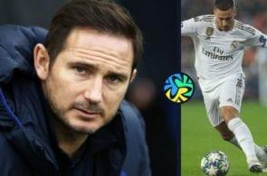 Frank Lampard Chelsea Eden Hazard Jadon Sancho