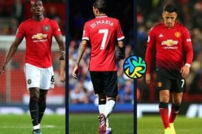paul Pogba, Angel di maria, Alexis sanchez, manchester united