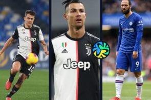 Ronaldo, Dybala, Higuain
