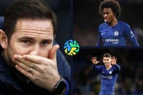 Chelsea Frank Lampard Willian