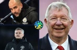 Sir Alex Ferguson, Pep Guardiola, ole gunnar solskjaer