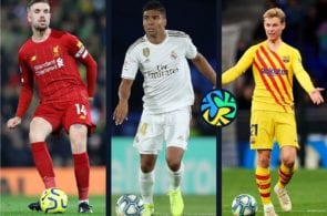 Top 5 midfielders to watch in the UEFA Champions League