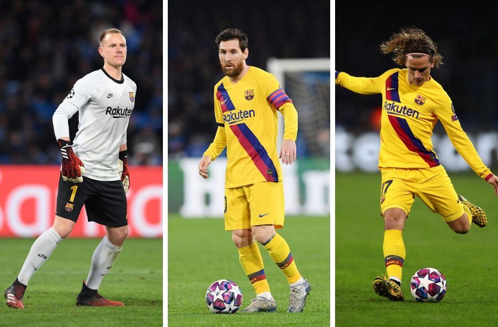 FC Barcelona, Top 5