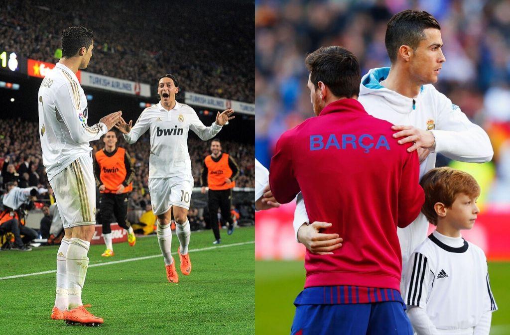 Cristiano Ronaldo, El Clasico