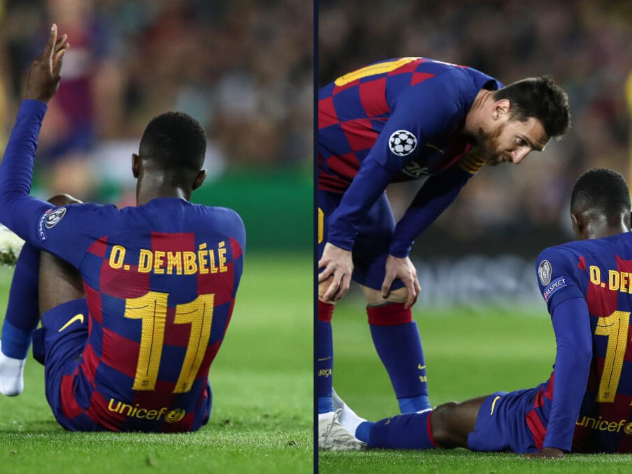 dembele injured again