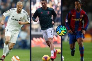 Top 5, legends, Ronaldo