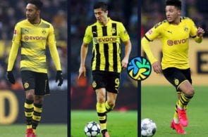 Top 5 forwards recently developed by Borussia Dortmund