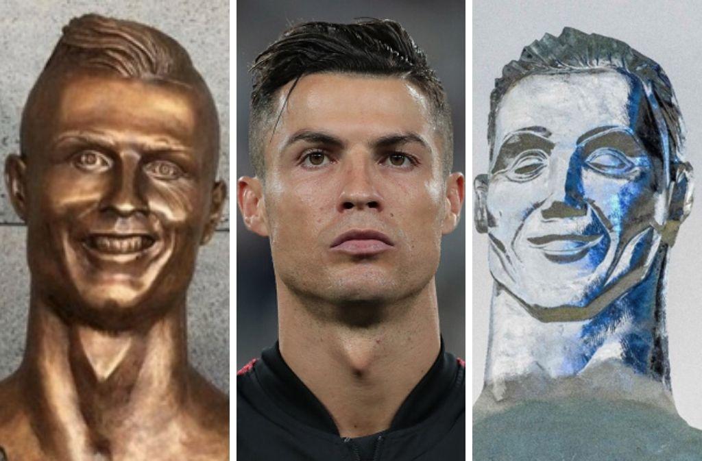 The 5 most bizarre Cristiano Ronaldo statues ever made, juventus