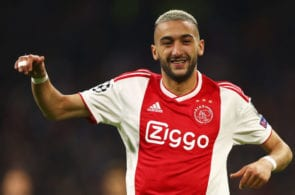 Hakim Ziyech, Ajax