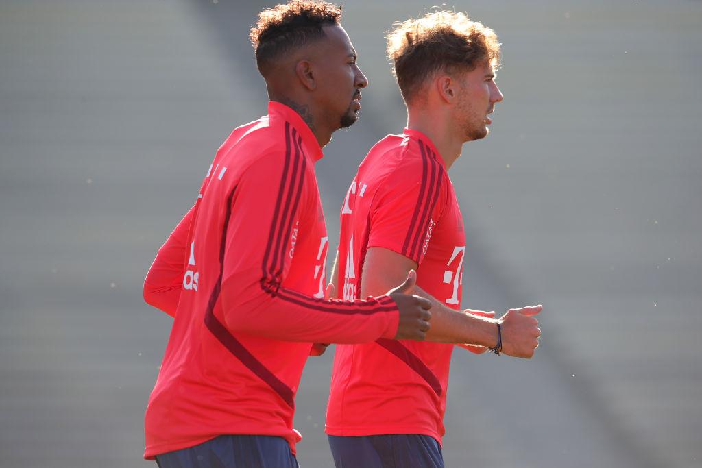 Leon Goretzka , Jerome Boateng, Bayern Munich