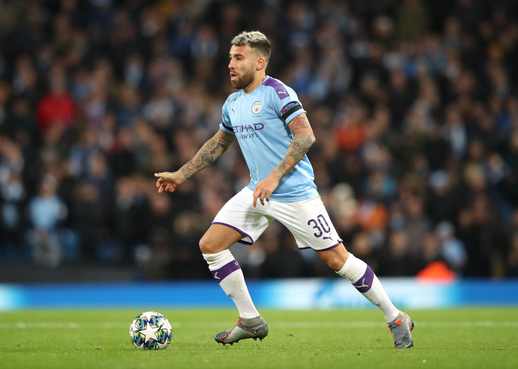 Nicolas Otamendi, Manchester City