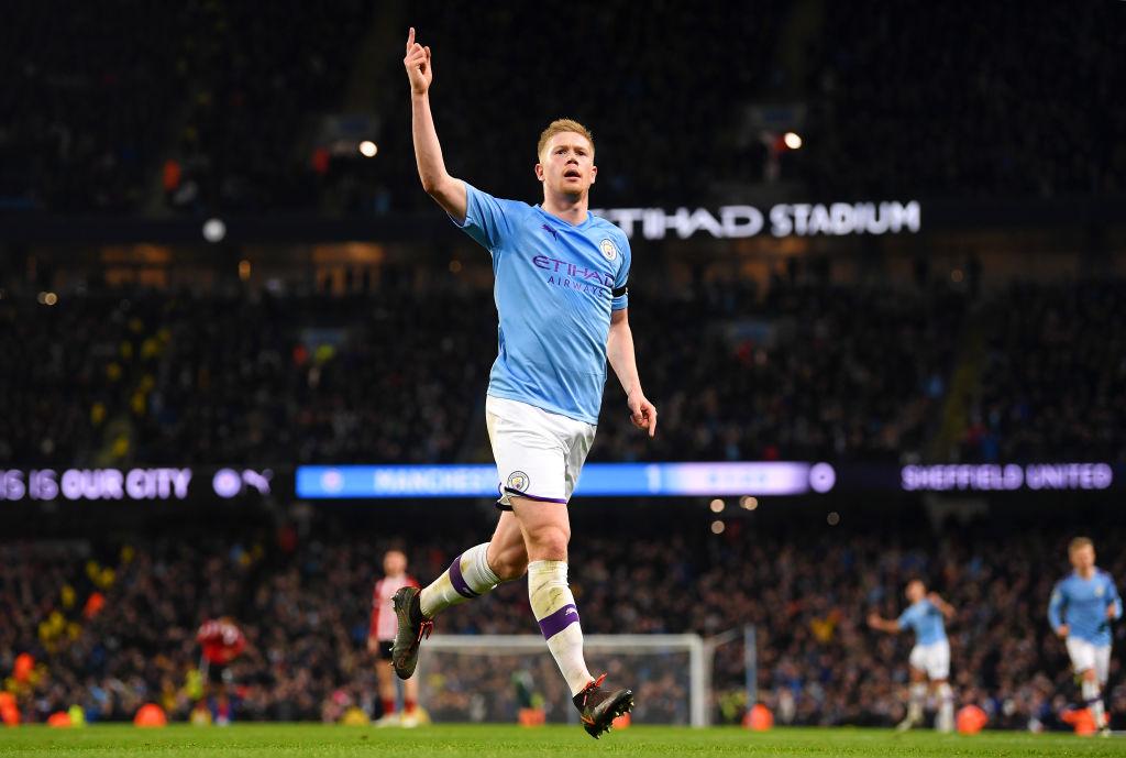 Kevin De Bruyne,Manchester City
