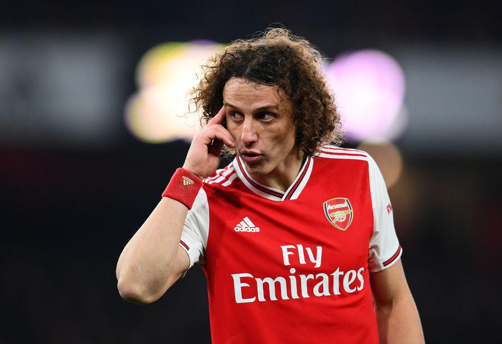 David Luiz, Arsenal, Mari