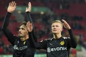 Mats Hummels, Erling Haaland, Borussia Dotrmund