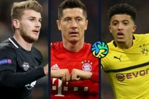 Top 10 Bundesliga players this season statistically