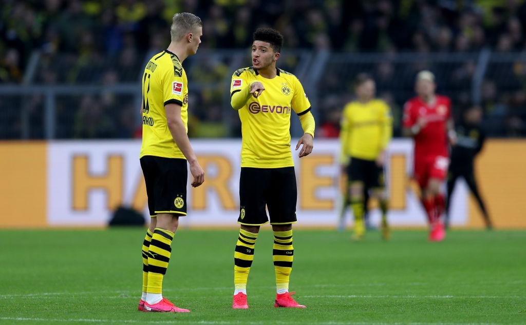 Erling Braut Haaland, Jadon Sancho, Borussia Dortmund