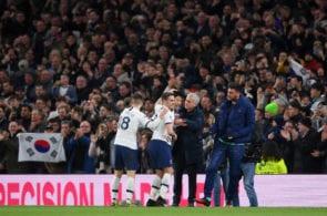 Jose Mourinho, Tottenham Hotspur v Manchester City