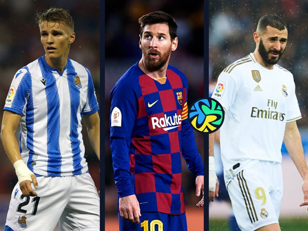 Top 10 La Liga players this season statistically