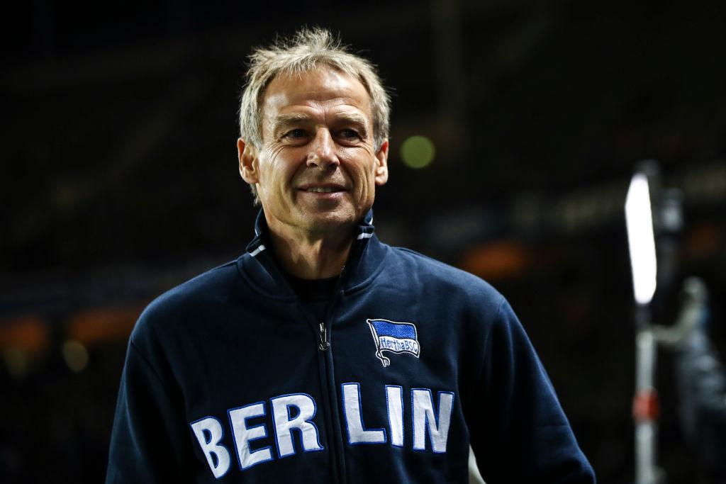 Jurgen Kilnsmann, Hertha Berlin