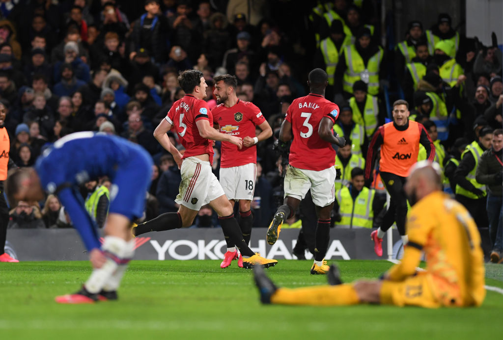 Chelsea, Manchester United