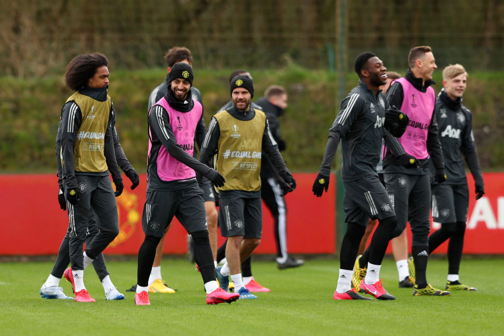 Manchester United Training Session, Ole Gunnar Solskjaer