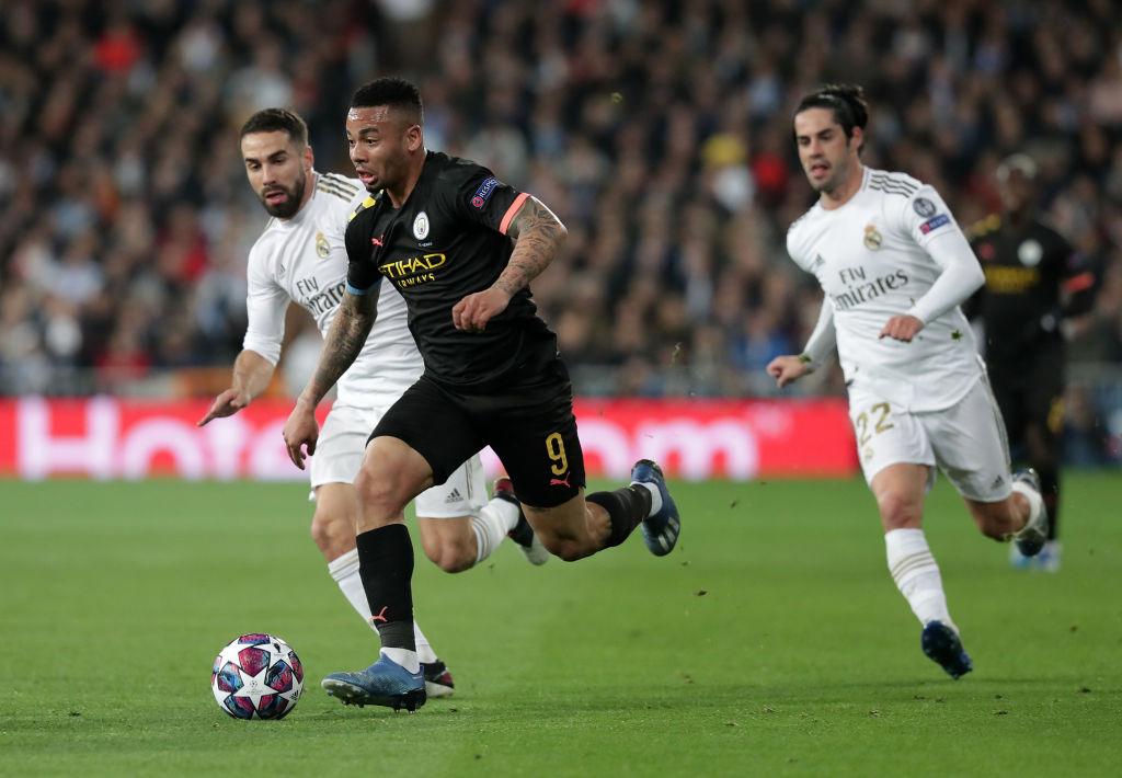 Gabriel Jesus, Manchester City, Real Madrid