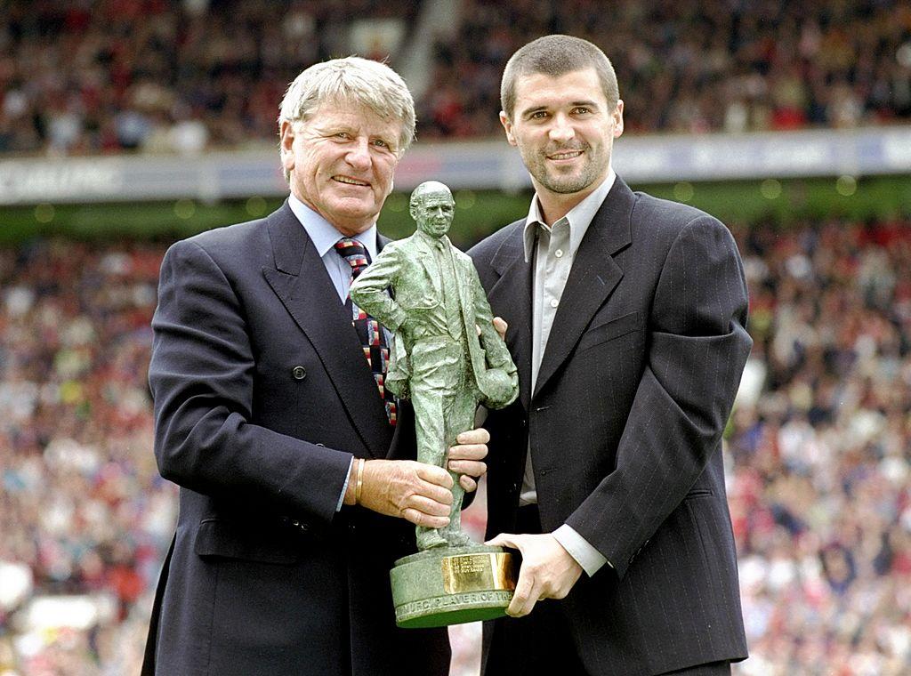 Roy Keane of Manchester Utd