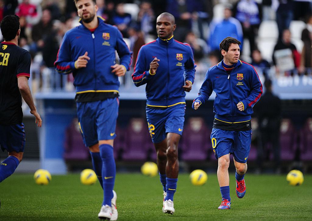 Messi, Abidal