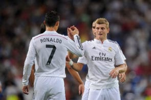 Cristiano Ronaldo, Toni Kroos, Real Madrid