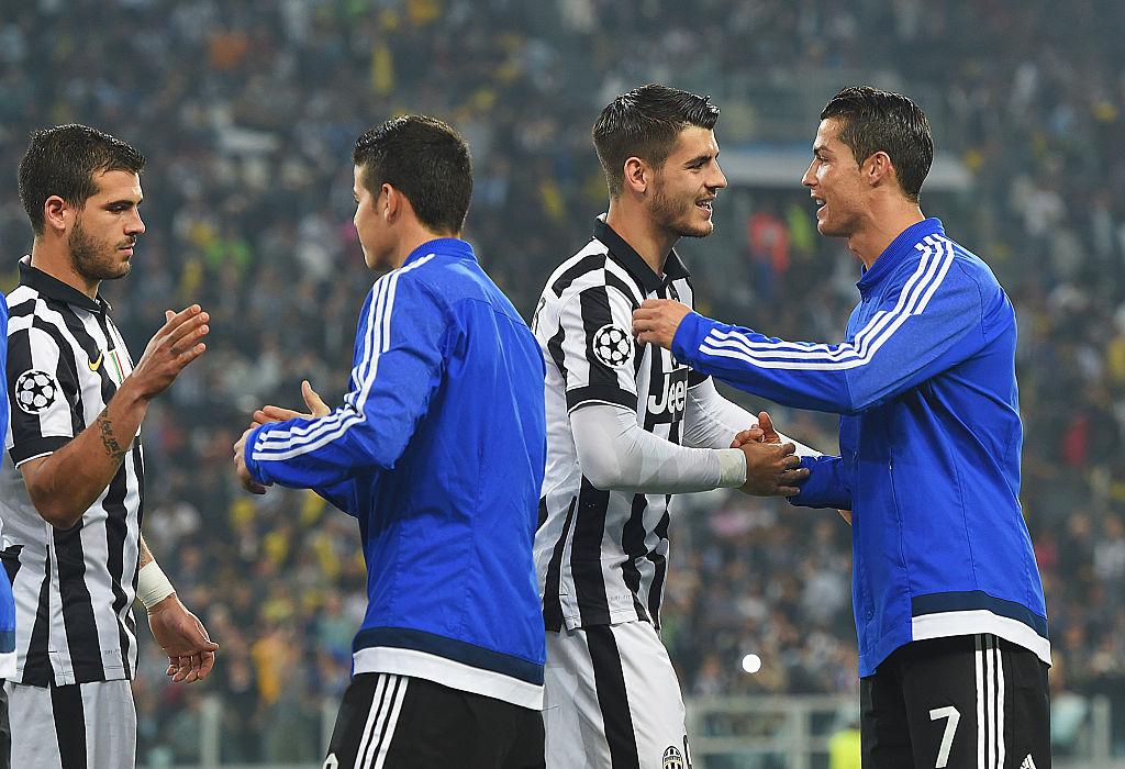 Alvari Morata, Cristiano Ronaldo