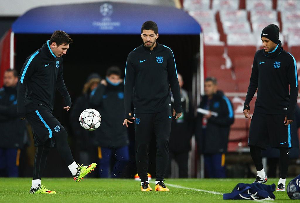 Neymar, Messi, Suarez
