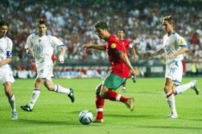 Fussball: EM 2004 in Portugal, RUS-POR