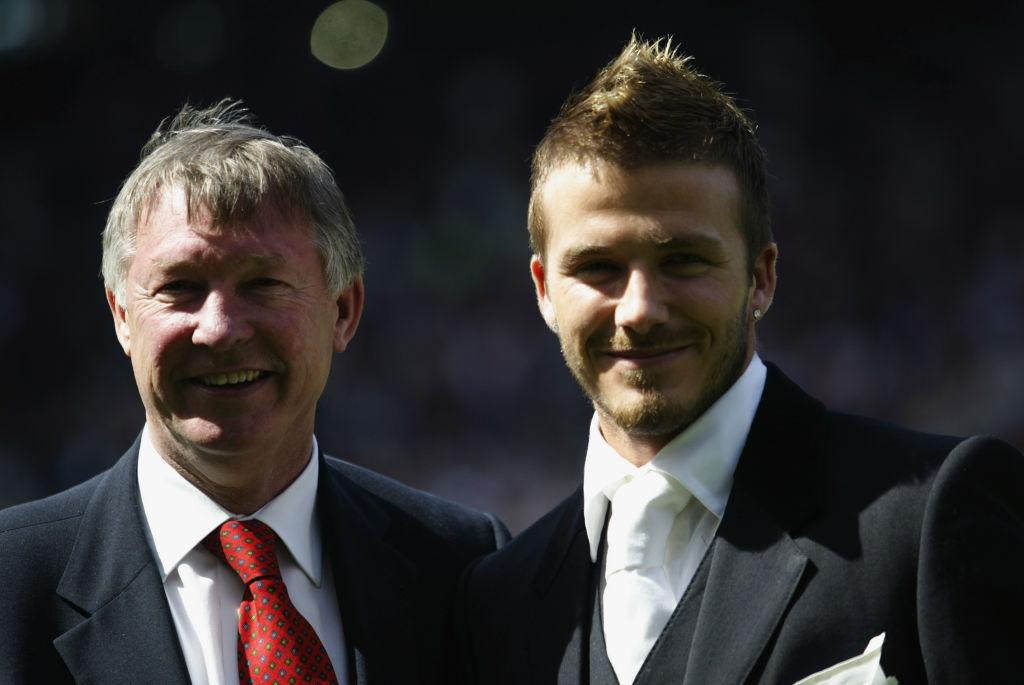 Sir Alex Ferguson, David Beckham