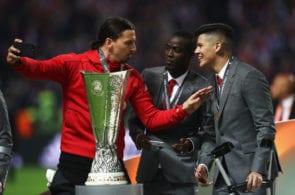 Zlatan Ibrahimovic, Marcos Rojo, Manchester United
