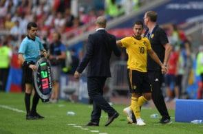 Roberto Martinez, Eden Hazard